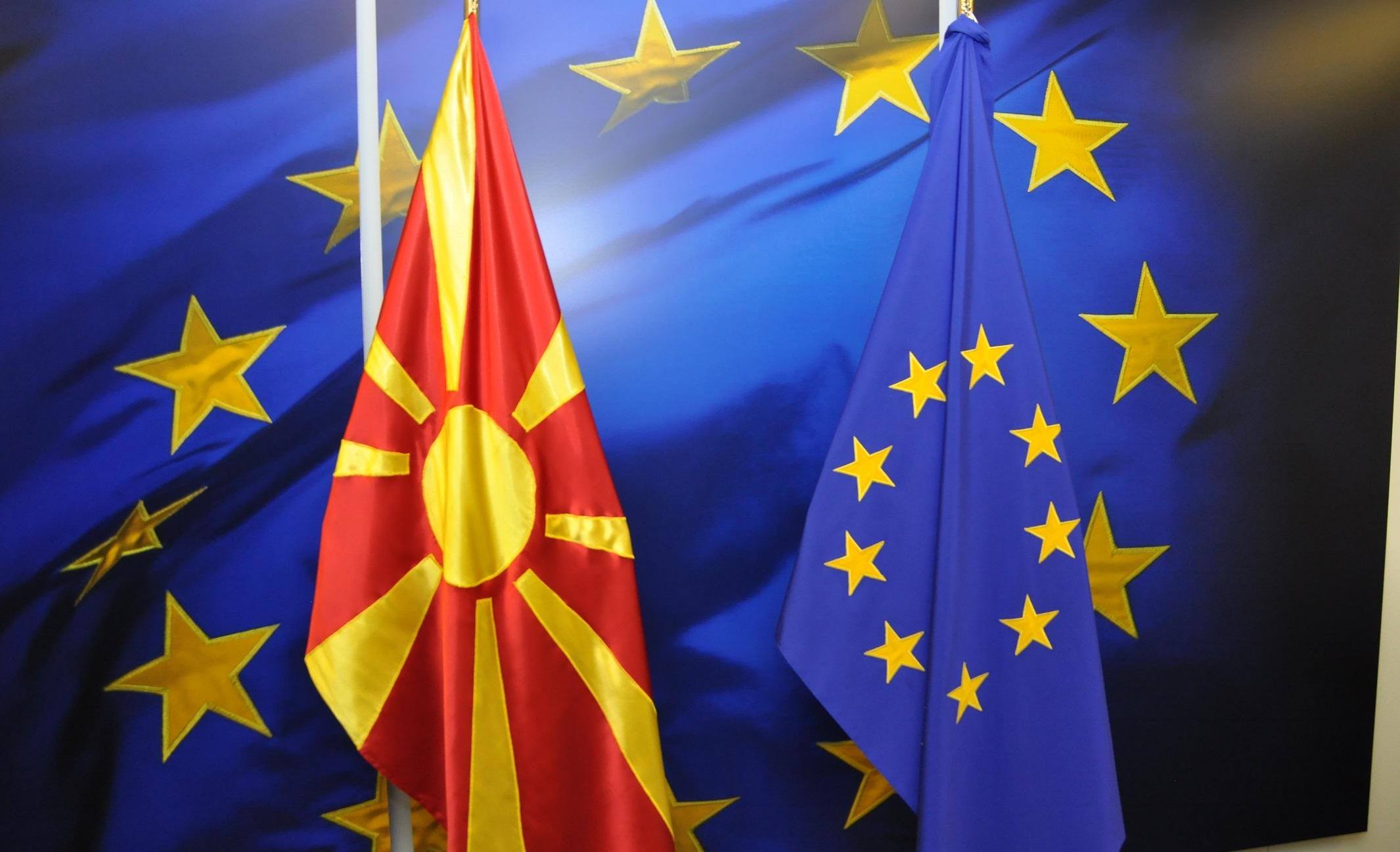 Εν αναμονή της έκθεσης προόδου της ΕΕ στα Σκόπια