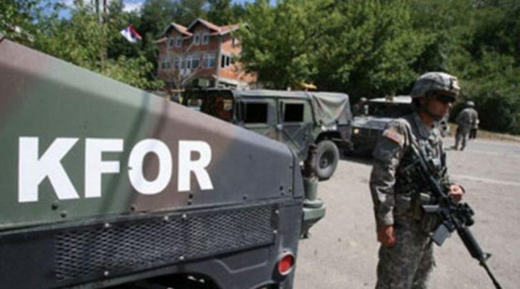 Η KFOR στηρίζει τις αστυνομικές επιχειρήσεις στα βόρεια του Κοσσυφοπεδίου