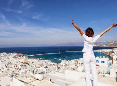 Στα 21,8 εκατ. οι τουρίστες στην Ελλάδα το οκτάμηνο