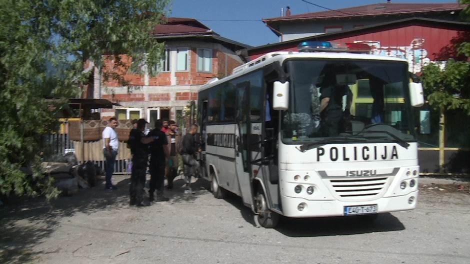 Β-Ε: Τέσσερις αστυνομικοί τραυματίσθηκαν σε επεισόδιο με μετανάστες