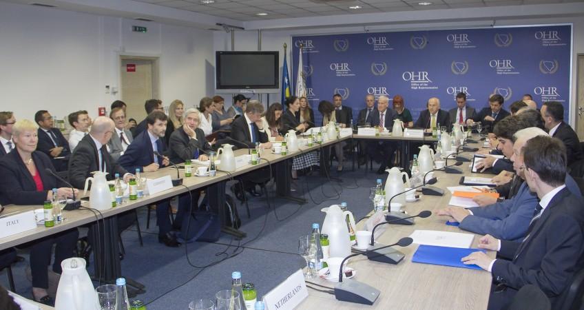 Β-Ε: Το Συμβούλιο Εφαρμογής Ειρήνης τονίζει την αναγκαιότητα μεταρρυθμίσεων
