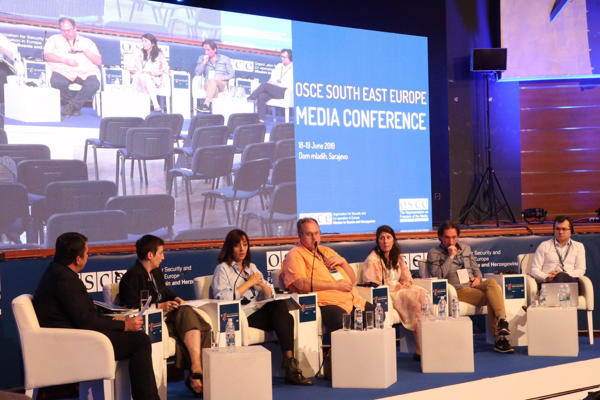 Η ασφάλεια των δημοσιογράφων στο επίκεντρο της 6η Διάσκεψης για τα Μέσα Μαζικής Ενημέρωσης στη Νοτιοανατολική Ευρώπη