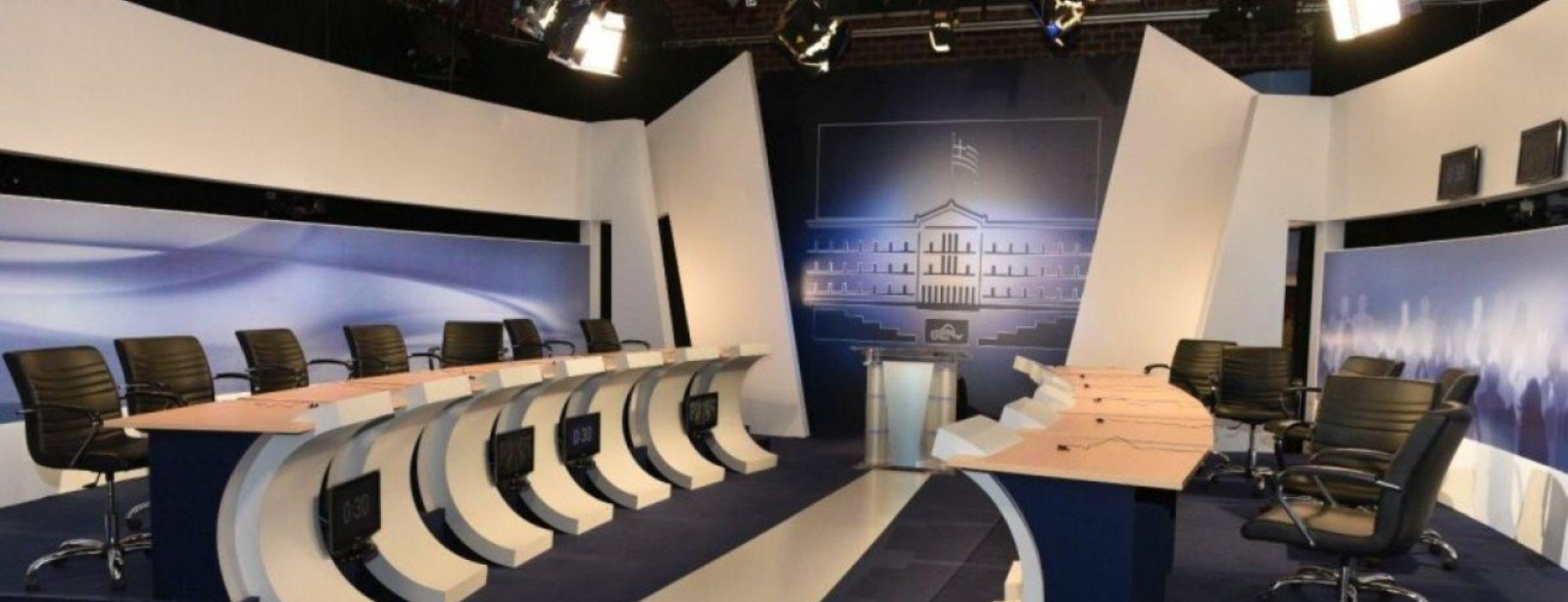"""""""Ναυάγιο"""" για το τηλεοπτικό ντιμπέητ των πολιτικών αρχηγών στην Ελλάδα"""