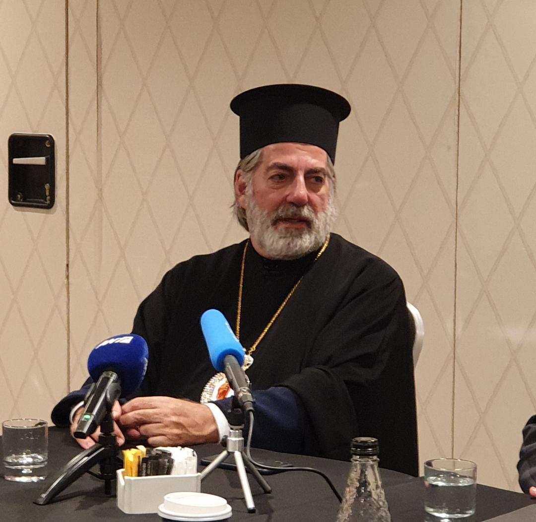 Ανυπομονεί να αναλάβει καθήκοντα ο νέος Αρχιεπίσκοπος Θυάτειρας και Μεγάλης Βρετανίας