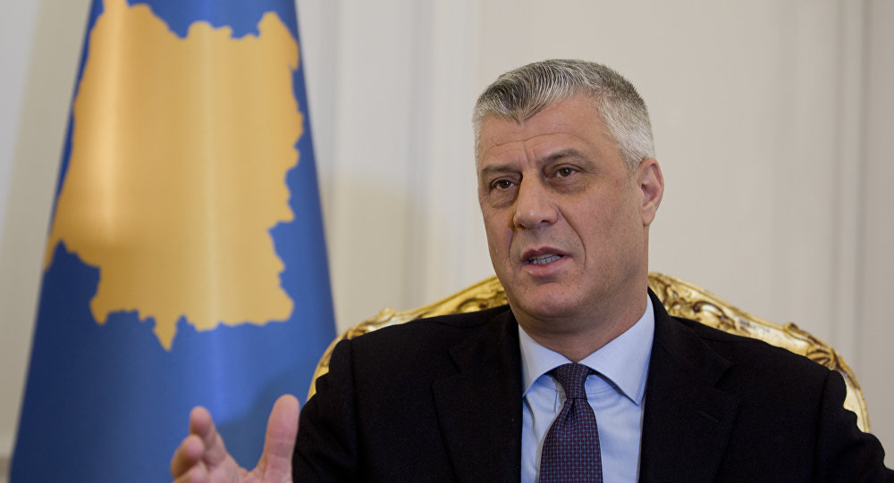 Ο πρόεδρος του Κοσσυφοπεδίου καλοβλέπει την κοιλάδα του Πρέσεβο