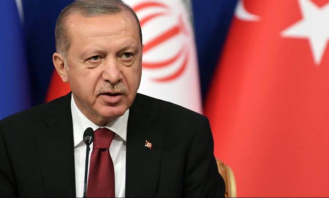 Erdogan: «Προχωράμε κανονικά τις γεωτρήσεις στην Ανατολική Μεσόγειο»