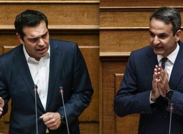 Ελλάδα: Μητσοτάκης και Τσίπρας συζήτησαν την αντιμετώπιση του κορωνοϊού στη Βουλή