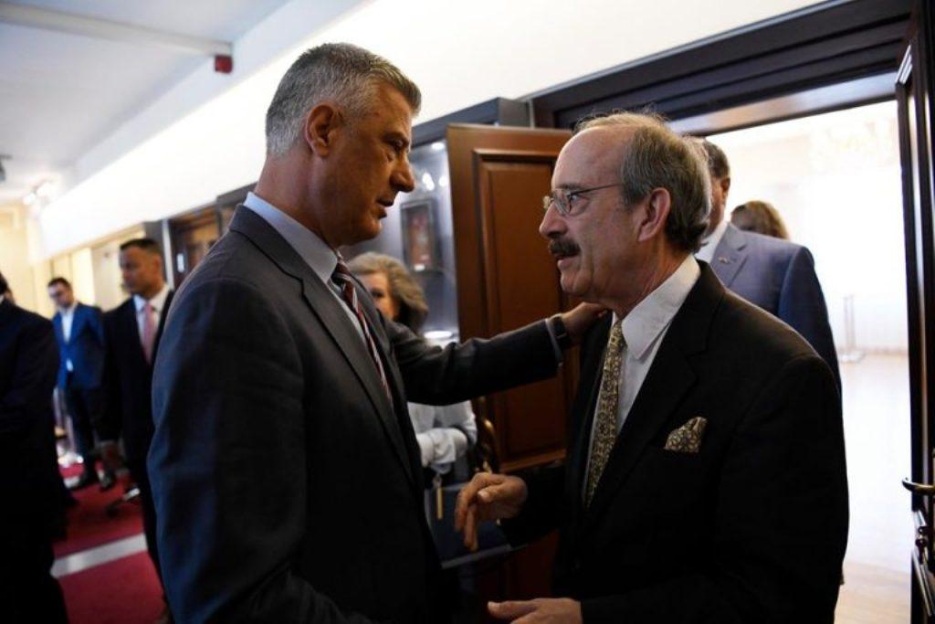 Ο Thaçi ζήτησε από τον Αμερικανό βουλευτή Eliot Engel να παραμείνουν οι ΗΠΑ επικεντρωμένες στο ζήτημα του Κοσσυφοπεδίου