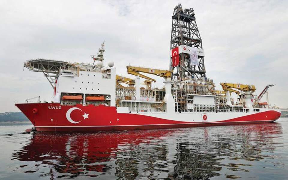 Χωρίς υποστηρικτικά πλοία το τουρκικό γεωτρύπανο «Γιαβούζ»