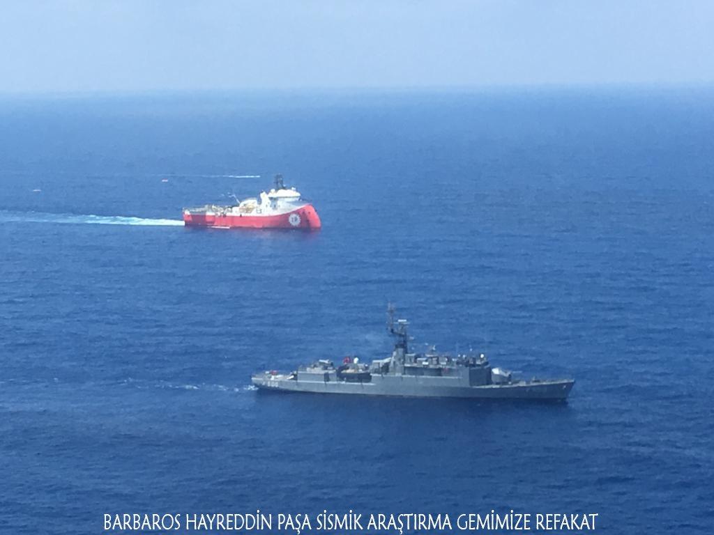 Επίδειξη δύναμης από την Τουρκία ανοιχτά της Κύπρου