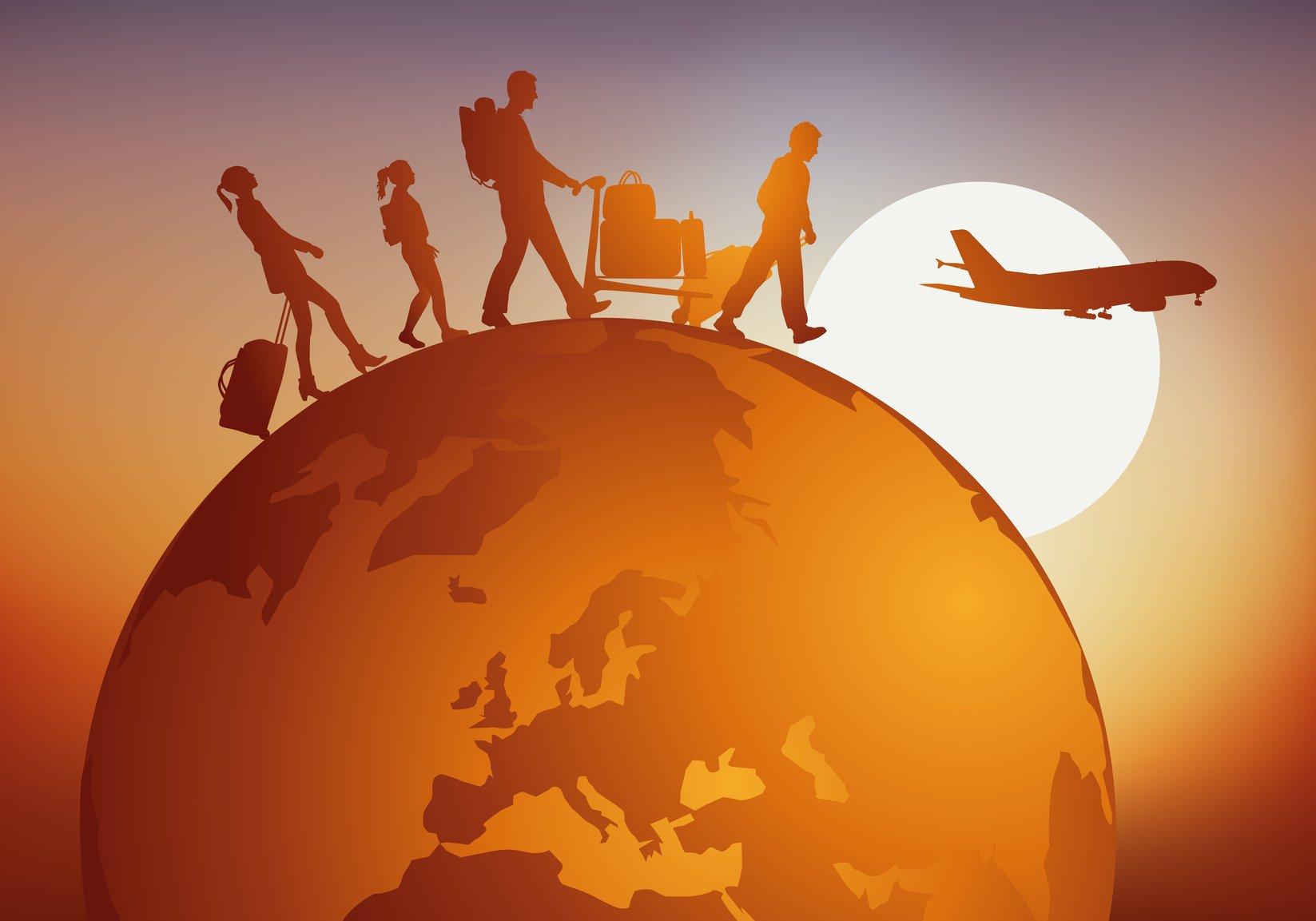 Αύξηση των ταξιδιωτικών εισπράξεων κατά 34,8% το α΄τρίμηνο