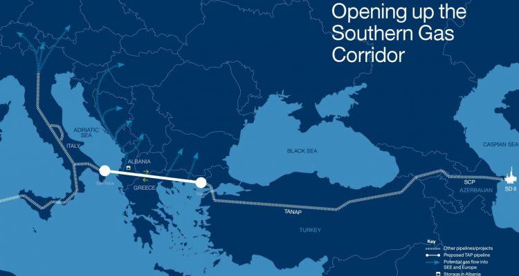 «Κυρίαρχος» το φυσικό αέριο στο ενεργειακό μείγμα των χωρών της ΝΑ Ευρώπης