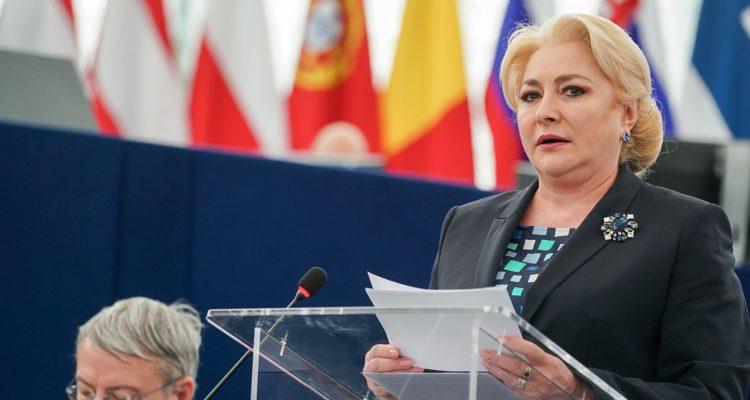 Τα αποτελέσματα της Ρουμανικής Προεδρίας παρουσίασε στο ΕΚ η Viorica Dancila