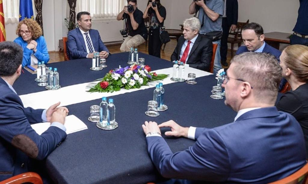 Ο πρόεδρος του VMRO-DPMNE δεν θα συμμετάσχει στη συνάντηση των πολιτικών αρχηγών