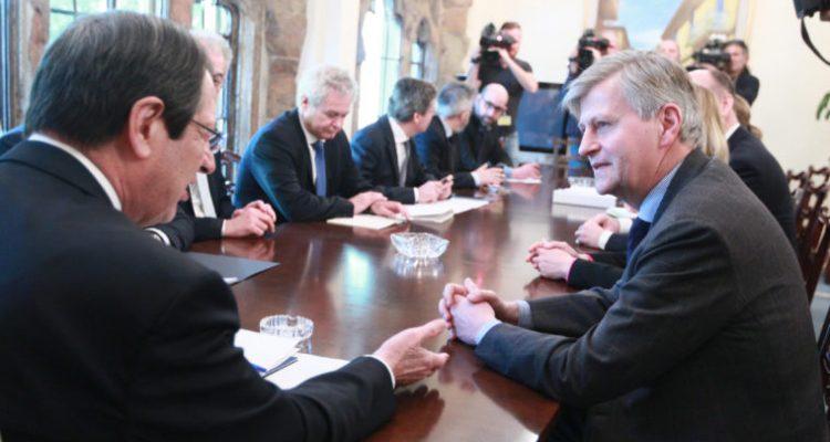 Σήμερα η συνάντηση του Βοηθού ΓΓ των ΗΕ με τον Πρόεδρο Αναστασιάδη