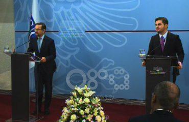 Ο ΥΠΕΞ της Αλβανίας συναντήθηκε με τον Γενικό Γραμματέα του ΟΑΣΕ