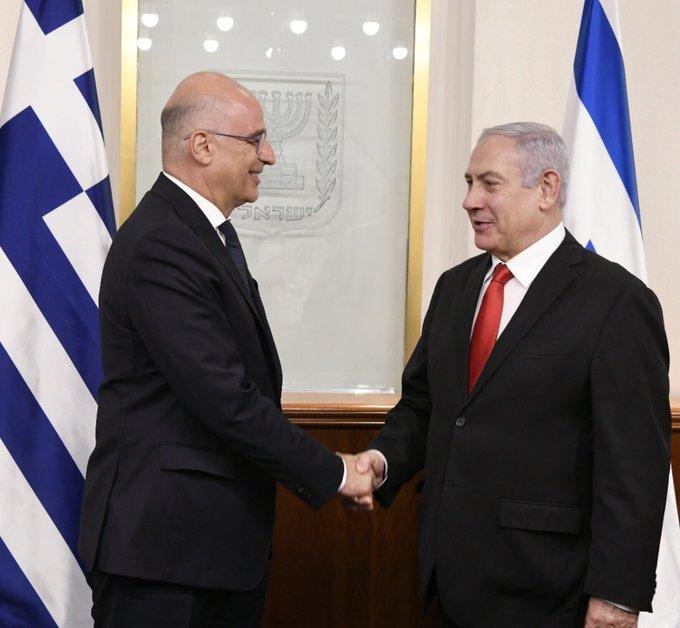 Δένδιας: Εξαιρετικές και πολυεπίπεδες οι σχέσεις της Ελλάδας με το Ισραήλ