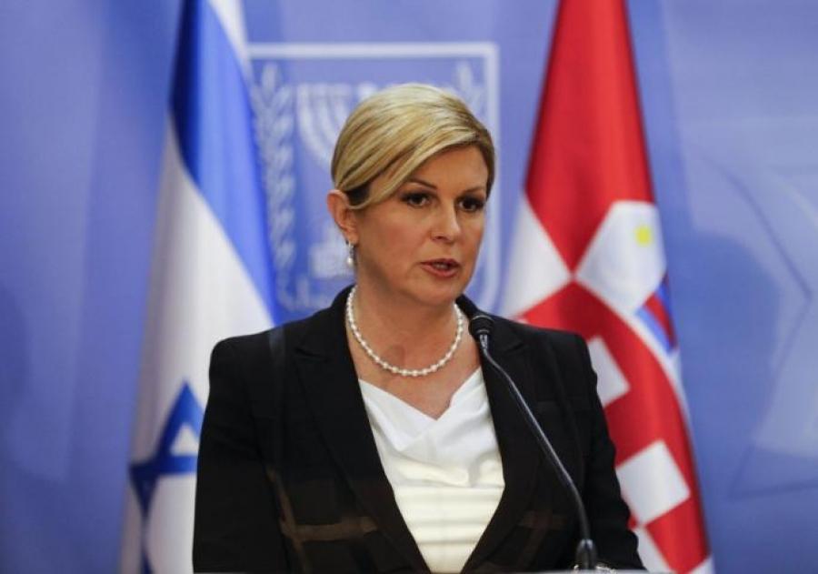 Β-Ε: Έντονες αντιδράσεις από τη δήλωση της Προέδρου της Κροατίας