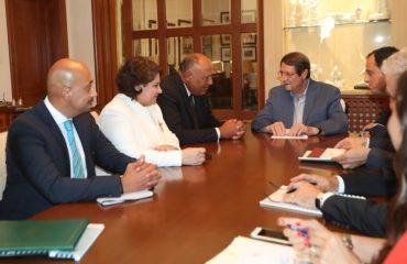 Σημαντικό βήμα στις σχέσεις Κύπρου Αιγύπτου η επίσκεψη Σούκρι στην Κύπρο