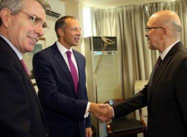 Πραγματοποιήθηκε η πρώτη συνάντηση της Ομάδας Εργασίας Ελλάδας –ΗΠΑ για τα ενεργειακά θέματα