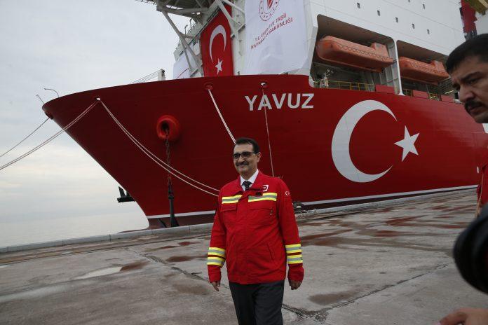 Τούρκος Υπ. Ενέργειας: Στα 1710 μέτρα βάθος η γεώτρηση Yavuz μέχρι στιγμής