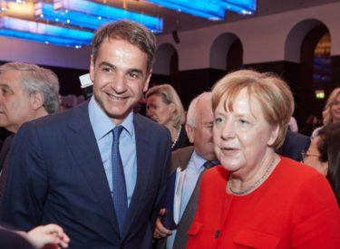 Επενδύσεις και μεταναστευτικό στην ατζέντα Μητσοτάκη – Merkel