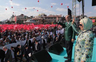 Erdogan: «Οι τρομοκρατικές παγίδες και οι επιθέσεις στην οικονομία μας δεν μπορούν να μας εμποδίσουν να επιτύχουμε τους στόχους μας»
