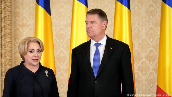 Ο Iohannis απέρριψε εκ νέου τον διορισμό των νέων υπουργών της Dancila