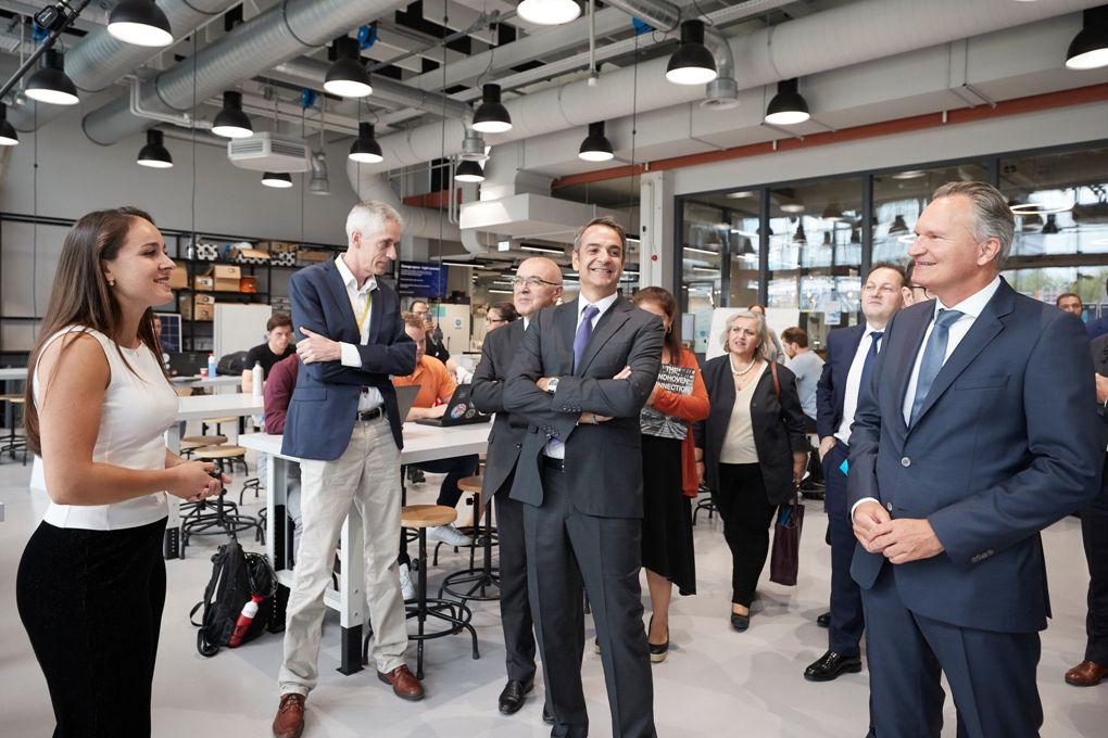 Συνέργειες με τους Ολλανδούς σε τομείς υψηλής τεχνολογίας συζητά ο Μητσοτάκης