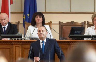 Ο Radev υποβάλλει προτάσεις στο Κοινοβούλιο για να καταστήσει τη Βουλγαρία «κανονική ευρωπαϊκή χώρα»