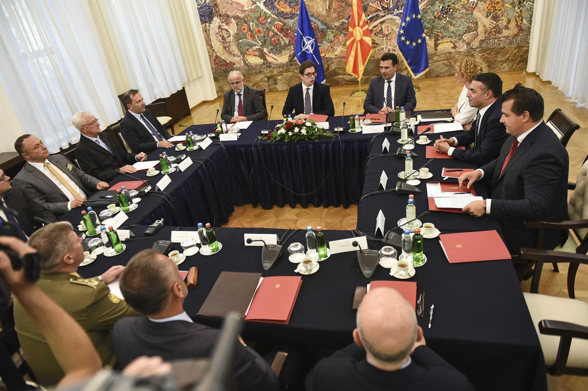 Pendarovski: Η Βόρεια Μακεδονία μπορεί να έρθει αντιμέτωπη με δύσκολες καταστάσεις