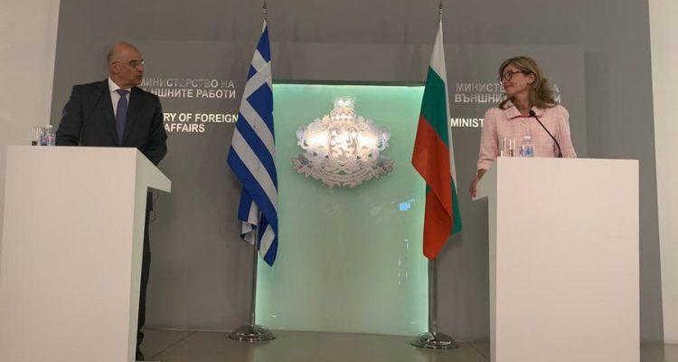 Zaharieva και Δένδιας επιβεβαίωσαν την στρατηγική σχέση Ελλάδας Βουλγαρίας