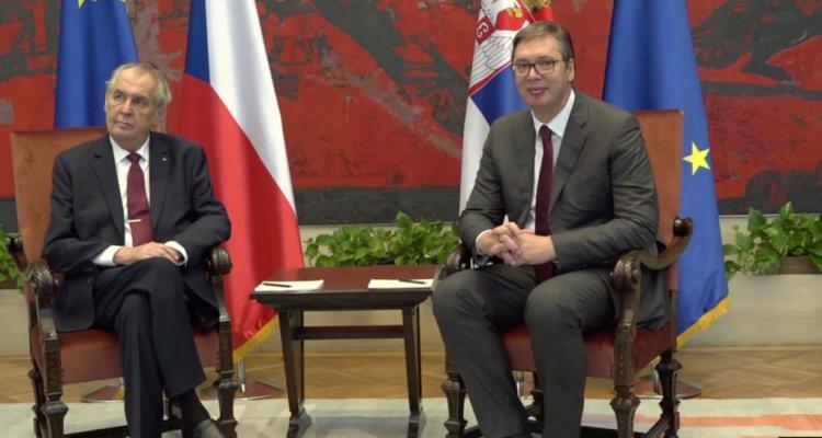 Ο πρόεδρος της Τσεχίας επιθυμεί επανεξέταση της αναγνώρισης του Κοσσυφοπεδίου – Αντίθετη η Πράγα