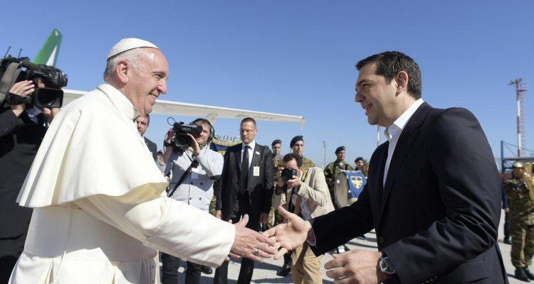 Ο Πάπας Φραγκίσκος υποδέχεται τον Αλέξη Τσίπρα
