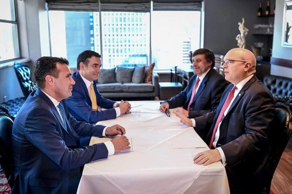 Zaev-Reeker: Η ημερομηνία για έναρξη των ενταξιακών διαπραγματεύσεων είναι προς το συμφέρον και των ΗΠΑ