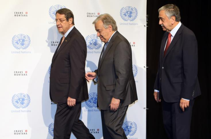 Να συνεχίσουμε, είπε ο Πρόεδρος Αναστασιάδης στον ΓΓ ΟΗΕ