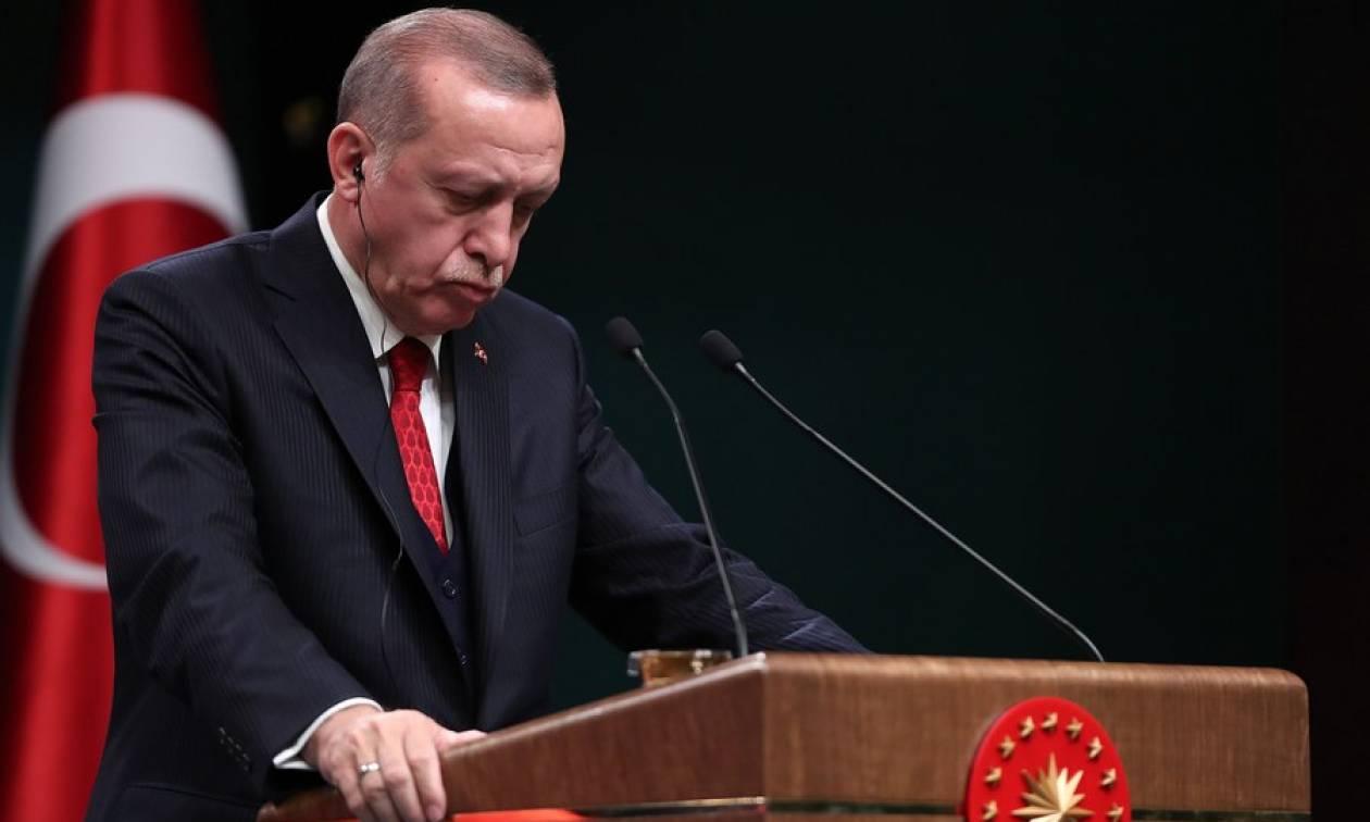Erdogan: «Θα έχουμε υπό τον έλεγχο μας περιοχή μήκους 44 χιλιομέτρων στη Συρία»