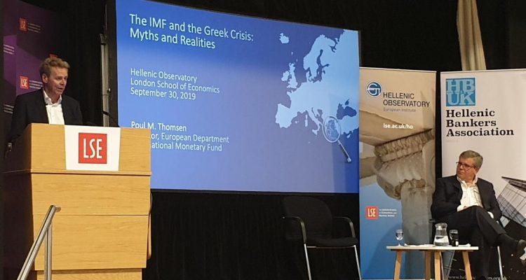 Επιλογή της προηγούμενης ελληνικής κυβέρνησης η επίτευξη υψηλών στόχων πρωτογενών πλεονασμάτων, λέει ο P. Thomsen