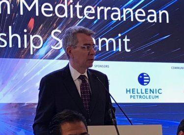 Geoffrey Pyatt: Η Ελλάδα είναι εγγυητής της ενεργειακής ασφάλειας
