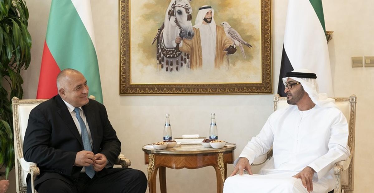 Ο πρωθυπουργός της Βουλγαρίας συναντήθηκε με τον πρίγκιπα του Αμπού Ντάμπι