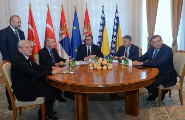 Σερβία, Β-Ε και Τουρκία δεσμεύονται για ειρήνη