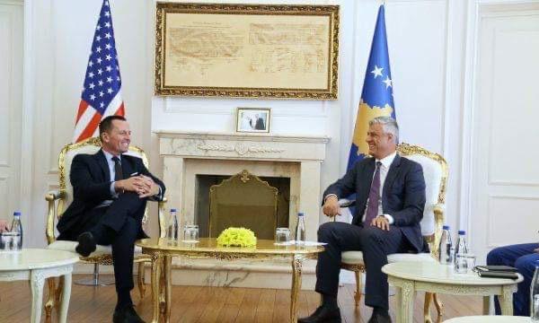 Thaci: Ο διάλογος Βελιγραδίου-Πρίστινας θα συνεχιστεί σύντομα και θα επιτευχθεί τελική συμφωνία