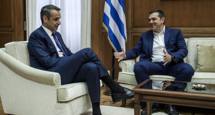 Συμφώνησαν ότι διαφωνούν Μητσοτάκης-Τσίπρας για την ψήφο των Ελλήνων του εξωτερικού