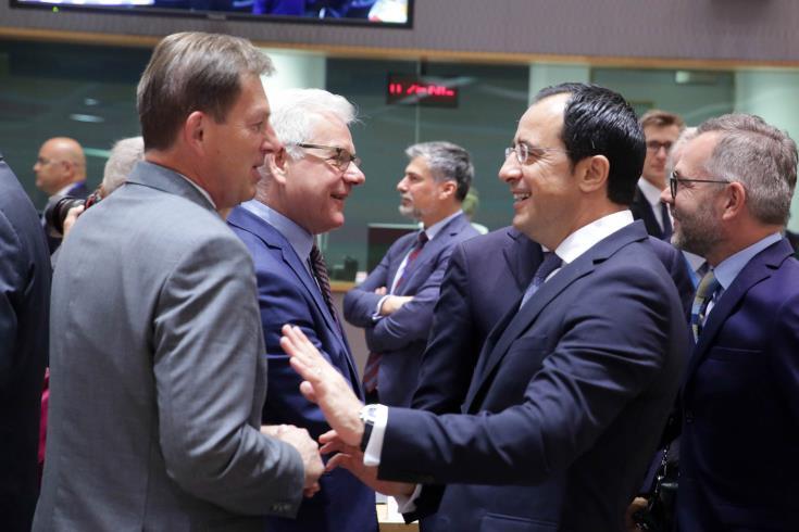 Στο Συμβούλιο Εξωτερικών Υποθέσεων ΕΕ οι έκνομες δραστηριότητες της Τουρκίας στην ΑΟΖ Κύπρου