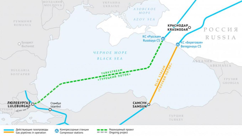 Τον Δεκέμβριο θα είναι έτοιμα και τα δύο τμήματα του Turkish Stream