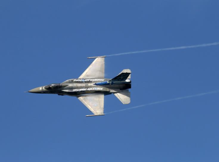 Με τη συμμετοχή ελληνικών F16 πραγματοποιείται η άσκηση ΤΑΜΣ στην Κύπρο