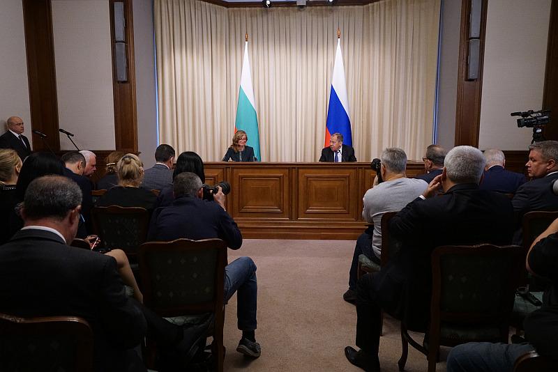 Συνάντηση ΥΠΕΞ Βουλγαρίας, Ρωσίας με επίκεντρο τα ενεργειακά και τους πολιτιστικούς δεσμούς