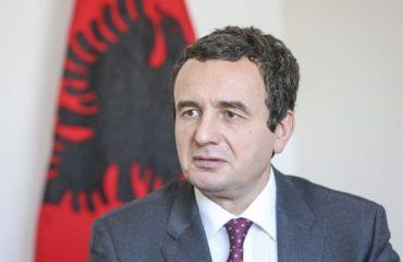 Albin Kurti: Η Σερβία να σταματήσει να κοιτάζει το Κοσσυφοπέδιο με στρατιωτικά κιάλια