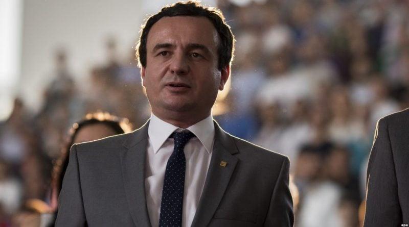 Κοσσυφοπέδιο: Προτεραιότητα η πανδημία κι όχι ο Πρόεδρος δήλωσε ο Kurti