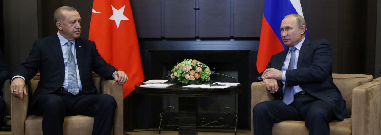 Putin κι Erdogan συμφώνησαν για την εδαφική ακεραιότητα και την πολιτική ενότητα της Συρίας